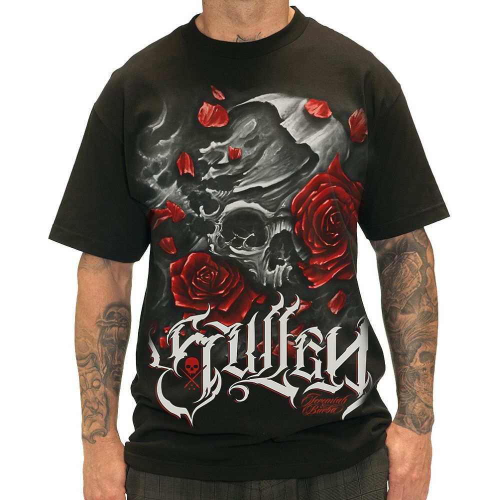 Sullen Jeremiah Red Tee