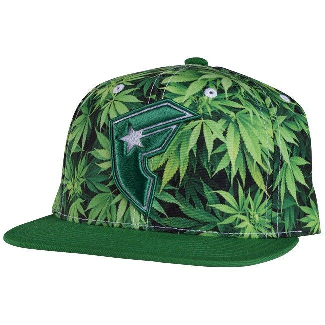 Famous Stars & Straps Herbs Snapback Hat