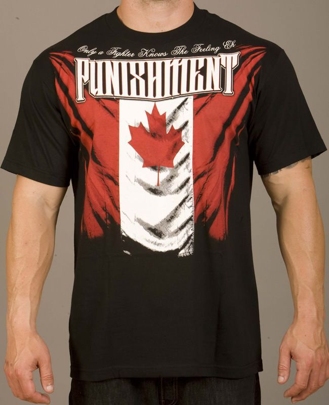 Punishment Athletics Canadian Pride Tee