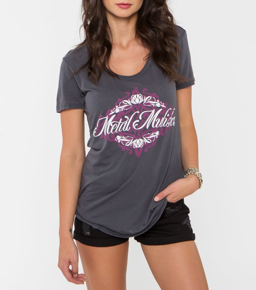 Metal Mulisha Graceful Scoop Jrs Tee